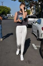 GIGI HADID Out and About in West Hollywood 05/26/2016