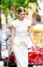 GIGI HADID Out for Lunch in New York 05/10/2016