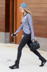 GIGI HADID Out in New York 05/10/2016