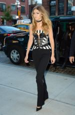 GIGI HADID Out in New York 05/16/2016