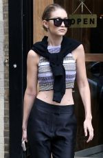 GIGI HADID Out in New York 05/17/2016