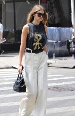 GIGI HADID Out in New York 05/19/2016