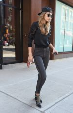 GIGI HADID Out in New York 05/23/2016
