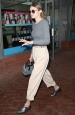 GIGI HADID Shopping an Color Me Mine in New York 05/18/2016