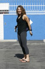 GIGNER ZEE at DWTS Rehersal in Hollywood 05/13/2016