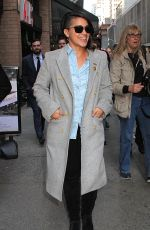 GINA RODRIGUEZ Arrives at a Studio in New York 05/19/2016