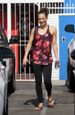 GINGER ZEE at DWTS Studio in Hollywood 05/14/2016