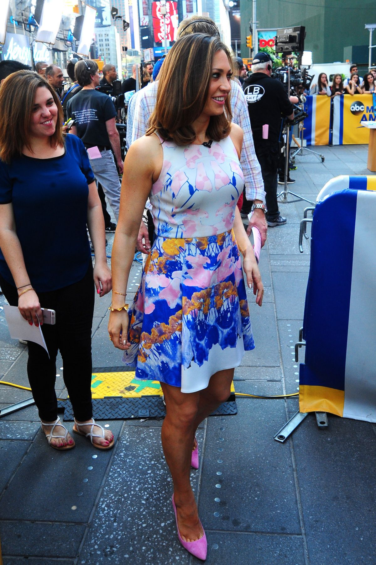 Good Morning America Nyc : Ginger zee at good morning america in new york