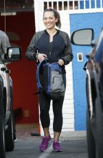 GINGER ZEE Leaves DWTS Studio in Hollywood 04/30/2016