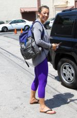 GINGER ZEE Leaves DWTS Studio in Hollywood 05/18/2016