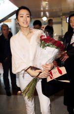 GONG LI at Nice Airport 05/10/2016