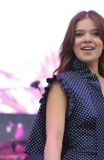 HAILEE STEINFELD at 102.7 Kiss FM's 2016 Wango Tango in Carson 05/14/2016