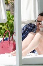 HAILEE STEINFELD in Bikini at Hotel Pool in Miami 05/20/2016