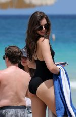 HAILEE STEINFELD in Swimsuit at a Beach in Miami 05/22/2016