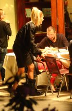 HAILEY BALDWIN and JUSTIN SKYE at Cipriani Wall Restaurant in New York 05/17/2016