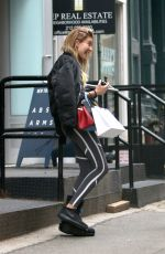 HAILEY BALDWIN Out and About in New York 05/17/2016