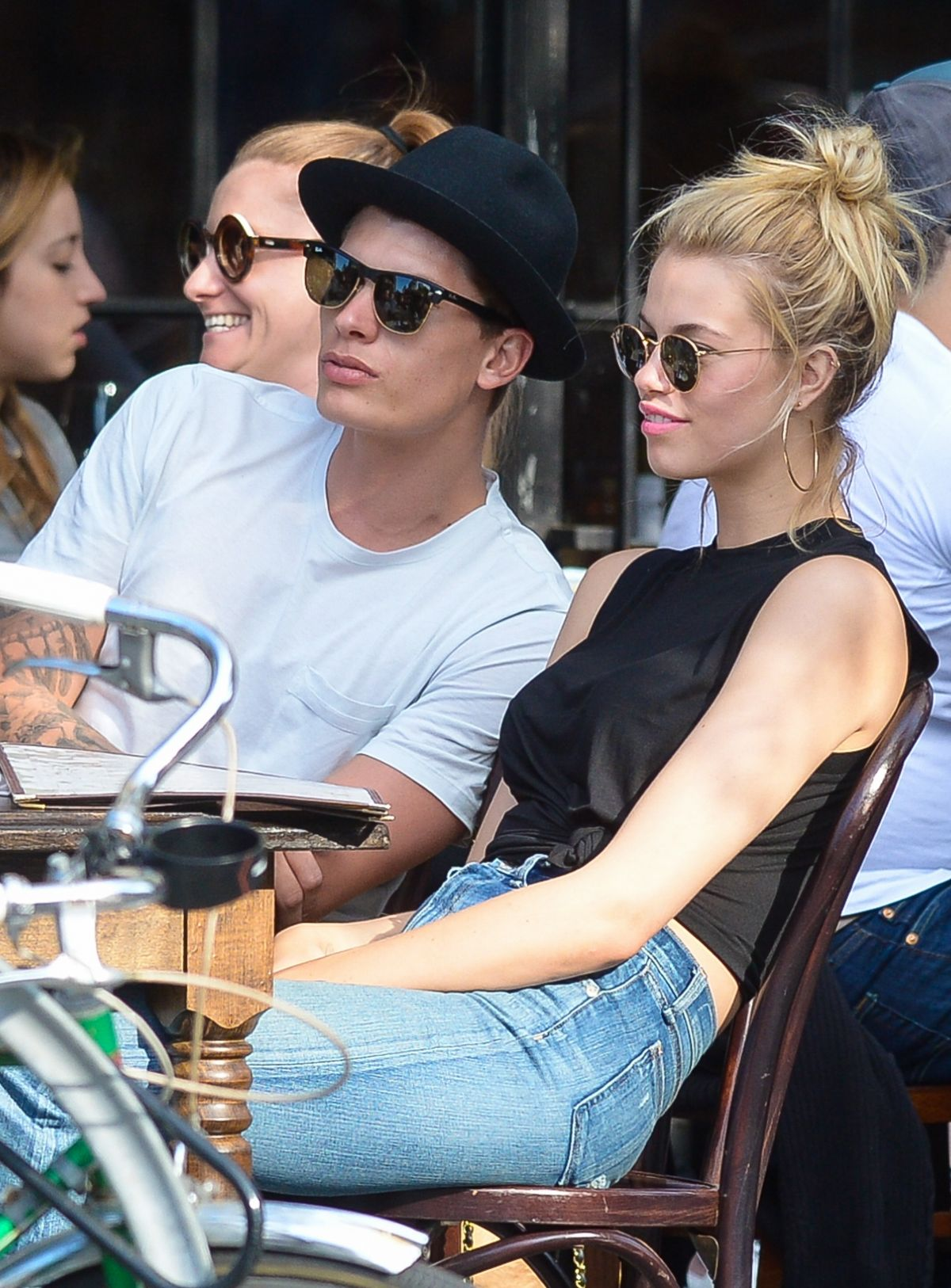 HAILEY CLAUSON Out for Lunch in New York 05/22/2016