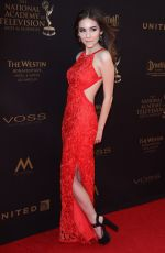 HALEY PULLOS at 2016 Daytime Emmy Awards in Los Angeles 05/01/2016