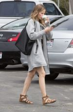 HALSTON SAGE on the Set of