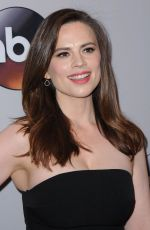 HAYLEY ATWELL at 2016 ABC Upfront in New York 05/17/2016
