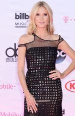 HEIDI KLUM at 2016 Billboard Music Awards in Las Vegas 05/22/2016