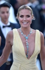 HEIDI KLUM at Amfar's 23rd Cinema Against Aids Gala in Antibes 05/19/2016