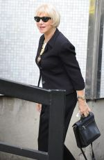 HELEN MIRREN Arrives at ITV Studios in London 05/17/2016