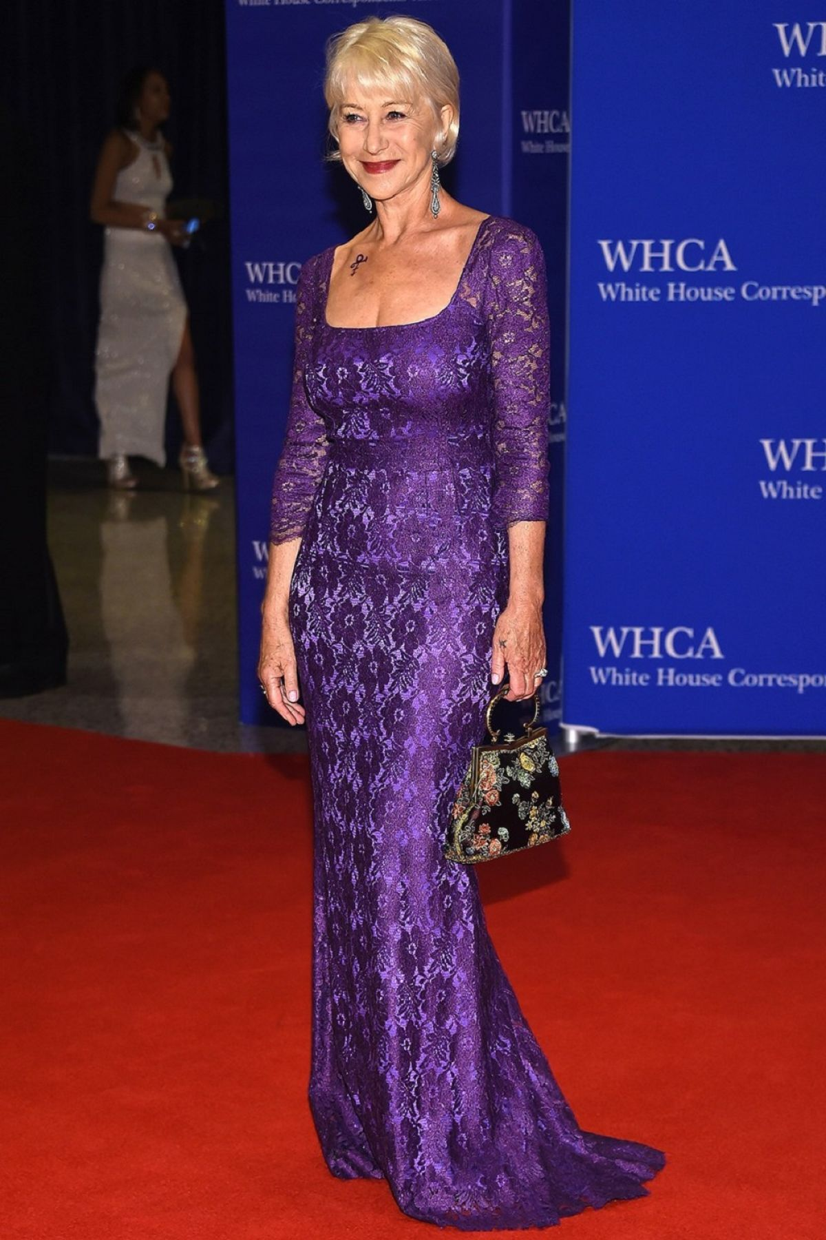 HELEN MIRREN at White House Correspondents' Dinner in Washington 04/30/2016