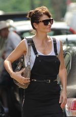 HELENA CHRISTENSEN Out and About in New York 05/27/2016