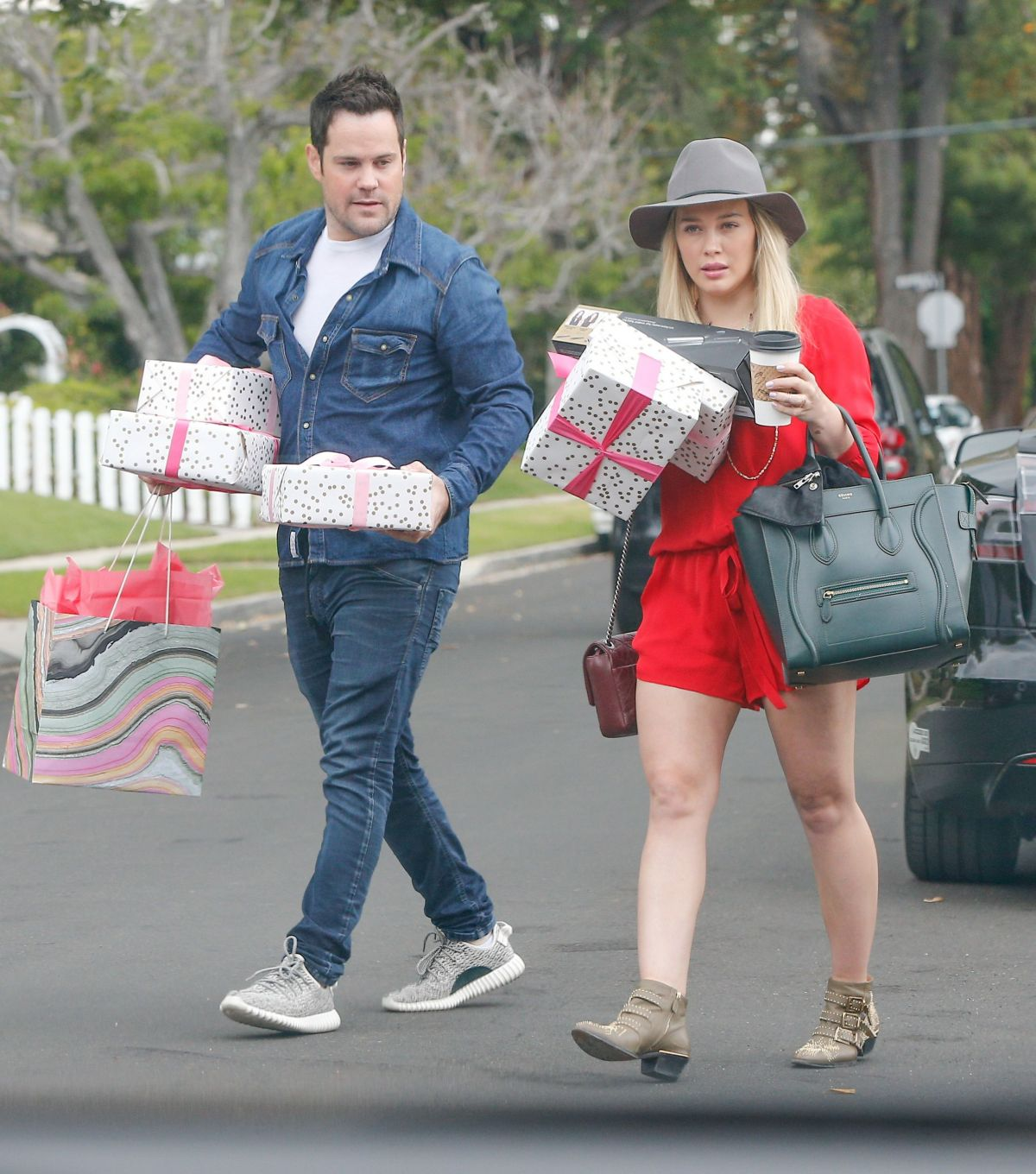 HILARY DUFF At Her Nieces Birthday Party In Los Angeles 05