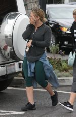 HILARY DUFF Out and About in Beverly Hills 05/25/2016