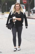 HILARY DUFF Out in Los Angeles 05/04/2016