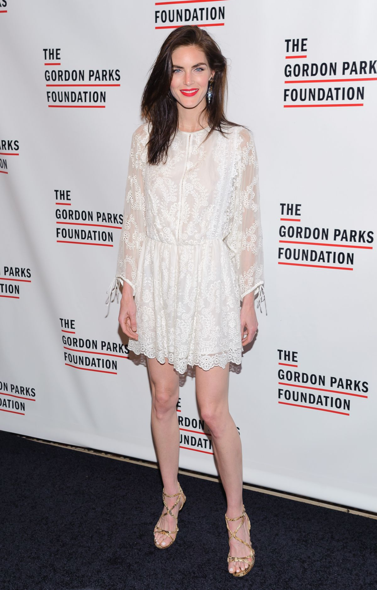 HILARY RHODA at 2016 Gordon Parks Foundation Awards Dinner in New York 05/24/2016