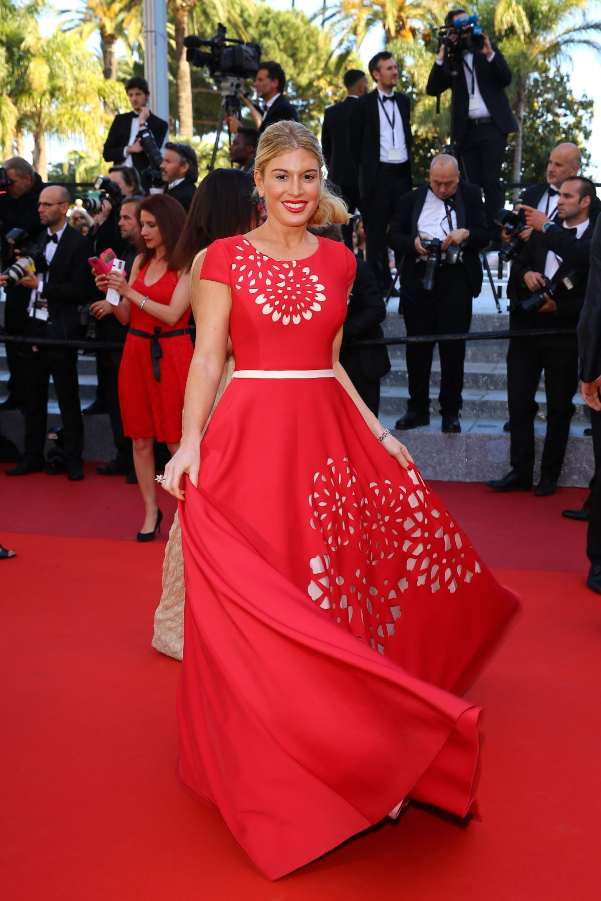 HOFIT GOLAN at 'Elle' Premiere at 69th Annual Cannes Film Festival 05/21/2016