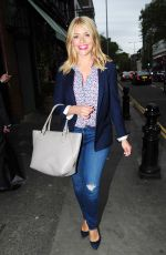 HOLLY WILLOUGHBY at Ivy Chelsea Garden in London 05/19/2016