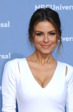 MARIA MENOUNOS at NBC/Universal Upfront Presentation in New York 05/16/2016