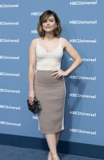 SOPHIA BUSH at NBC/Universal Upfront Presentation in New York 05/16/2016