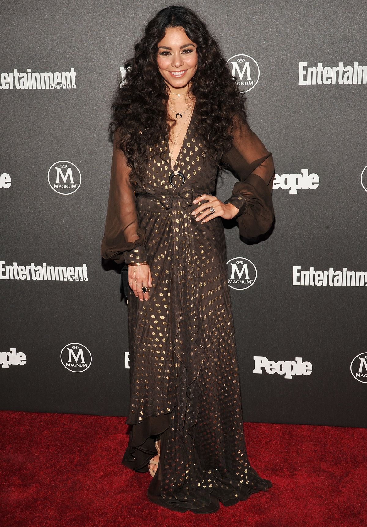 VANESSA HUDGENS at EW ...