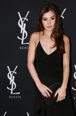 HAILEE STEINFELD at Yves Saint Laurent Beauty Event at Gibson Brands Sunset in West Hollywood 05/18/2016
