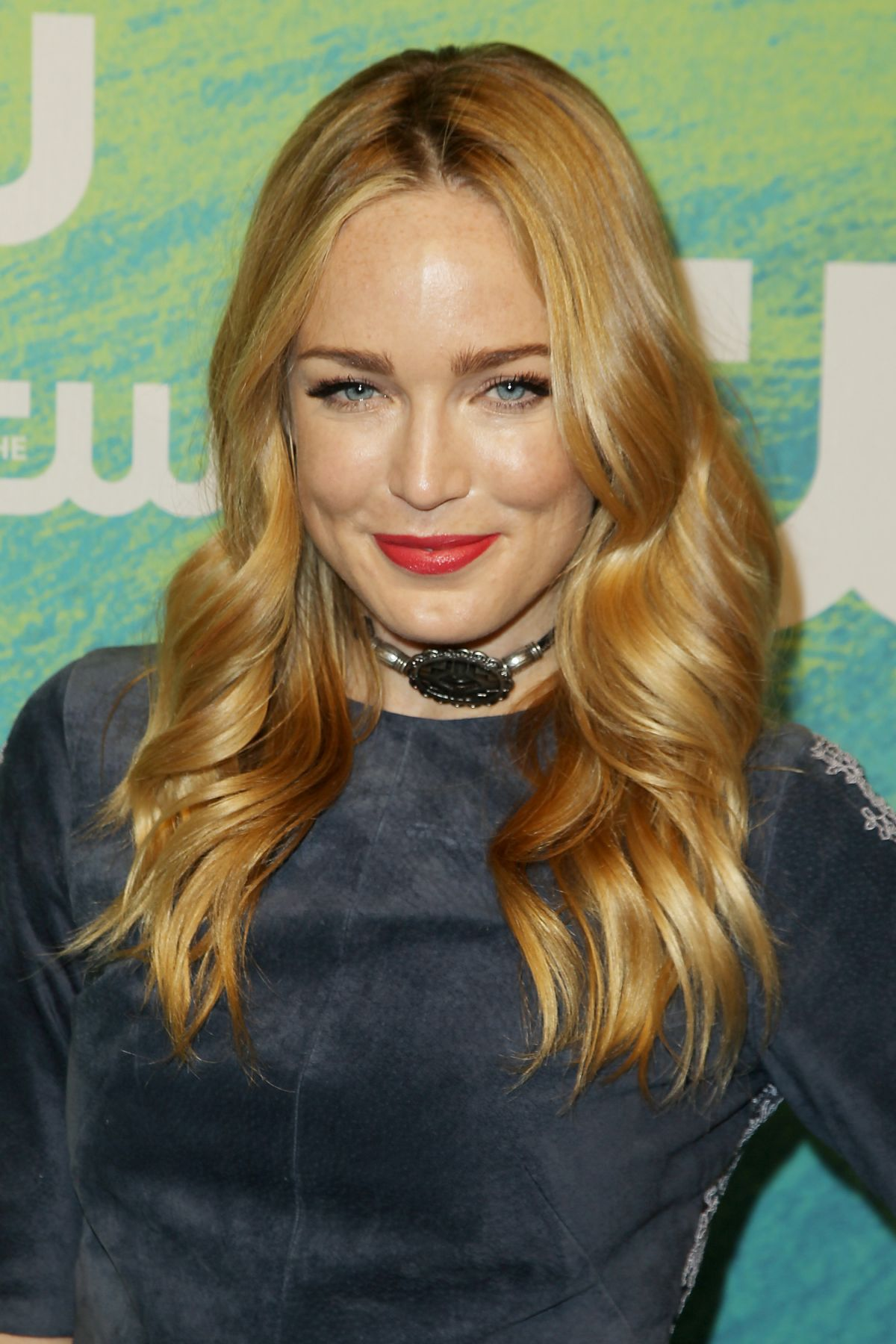 CAITY LOTZ At 2016 CW Network Upfront In New York 0519