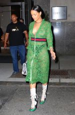RIHANNA Night Out in New York 05/25/2016