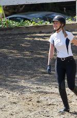 IGGY AZALEA at Horse Riding in Los Angeles 04/29/2016