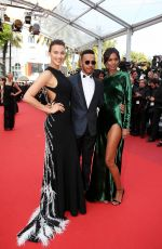 IRINA SHAYK at 'The Unknown Girl' Premiere at 69th Annual Cannes Film Festival 05/18/2016