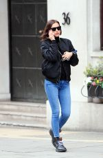 IRINA SHAYK in Jeans Out and About in London 05/25/2016