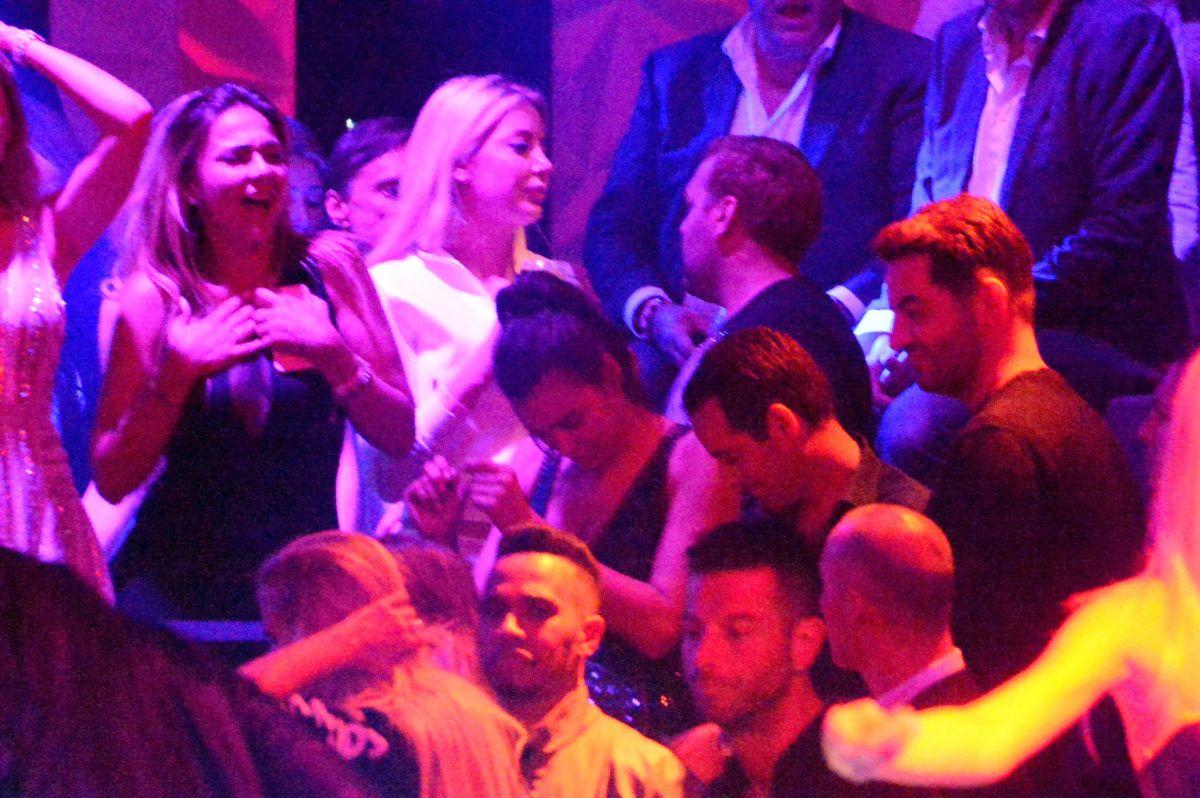 IRINA SHAYK Partying at Gotha Club in Cannes 05/18/2016