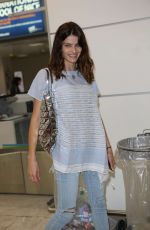 ISABELI FONTANA at Nice Airport 05/21/2016
