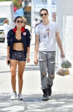 ISABELLE FUHRMAN in Tank Top and Spandex Shorts Out in Los Angeles 05/01/2016