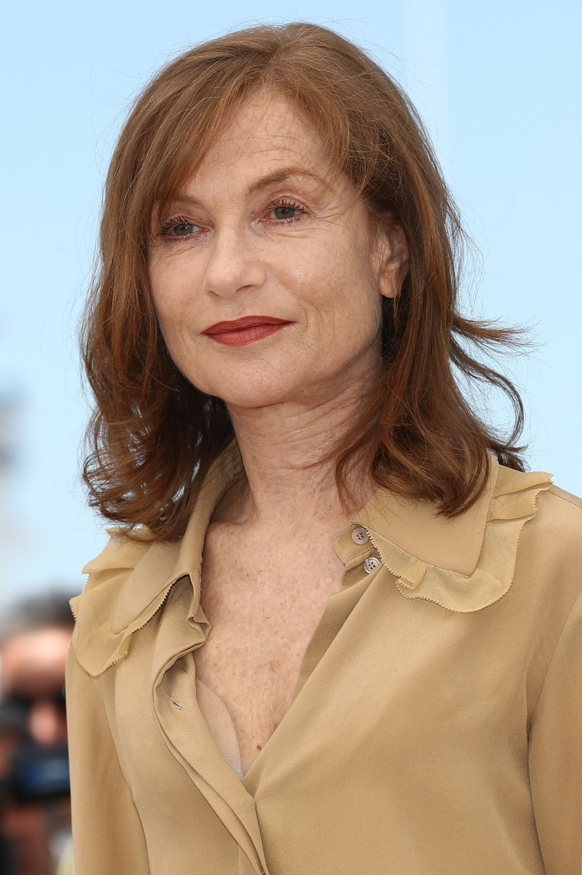 ISABELLE HUPPERT at Westminster Hotel in Paris 01/30/2017