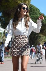 IZABEL GOULART Out and About in Cannes 05/20/2016