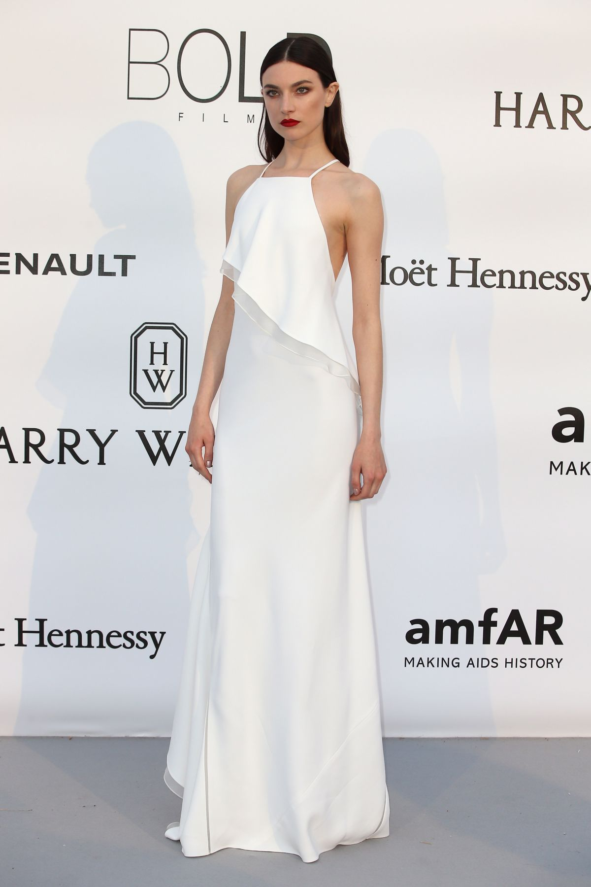 JACQUELYN JABLONSKI at Amfar's 23rd Cinema Against Aids Gala in Antibes 05/19/2016